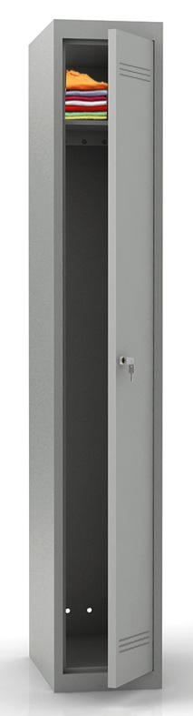 mpi 118 300 360 400 novyy - Односекционный металлический шкаф гардеробный МПИ-118 (400)