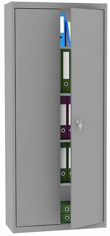 mpi 426800 s novymi papkami - Двухсекционный металлический архивный шкаф МПИ-426 (800)